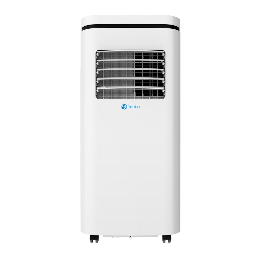ROLLICOOL 10,000 BTU (5,500 BTU, DOE) 3-in-1 Portable Air Conditioner, Dehumidifier, App, and Alexa Voice Control in White