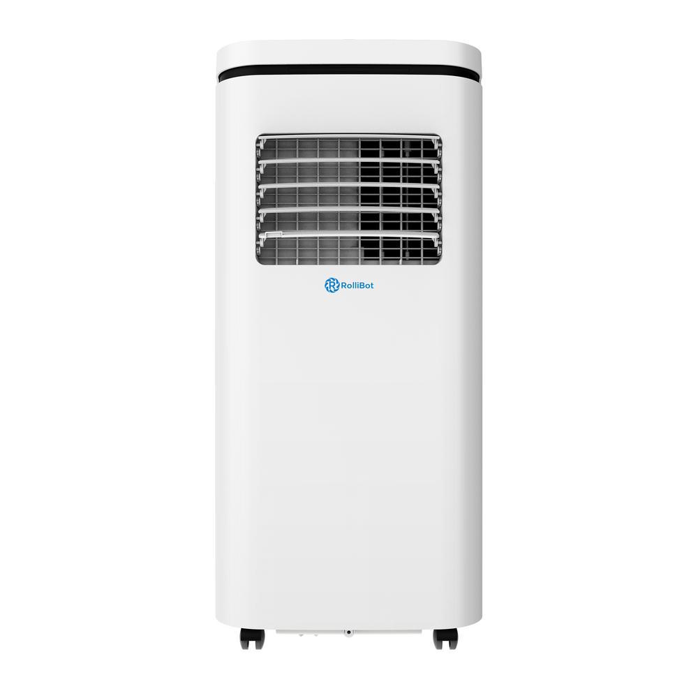 10,000 BTU (5,500 BTU, DOE) Portable Air Conditioner, Dehumidifier, App, Quiet Operation, & Alexa Voice Control in White