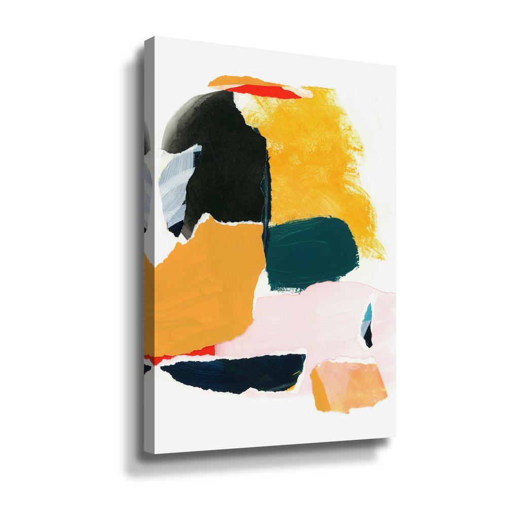 Artwall Collage Studies 18 02 By Iris Lehnhardt Canvas Wall Art 5leh036a1218w The Home Depot