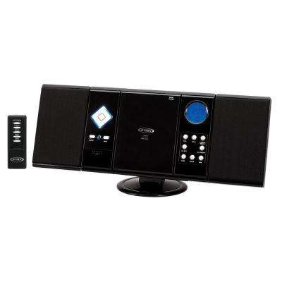 Wall Mountable CD System with Digital AM/FM Stereo Receiver and Remote Control