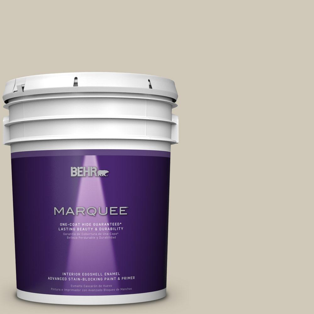 5 gal. #PPU8-16 Coliseum Marble One-Coat Hide Eggshell Enamel Interior Paint