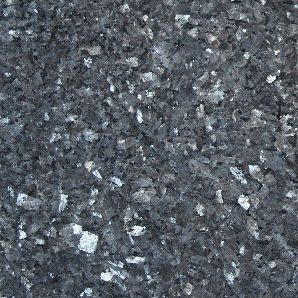 Msi Blue Pearl 12 In X 12 In Polished Granite Wall Tile