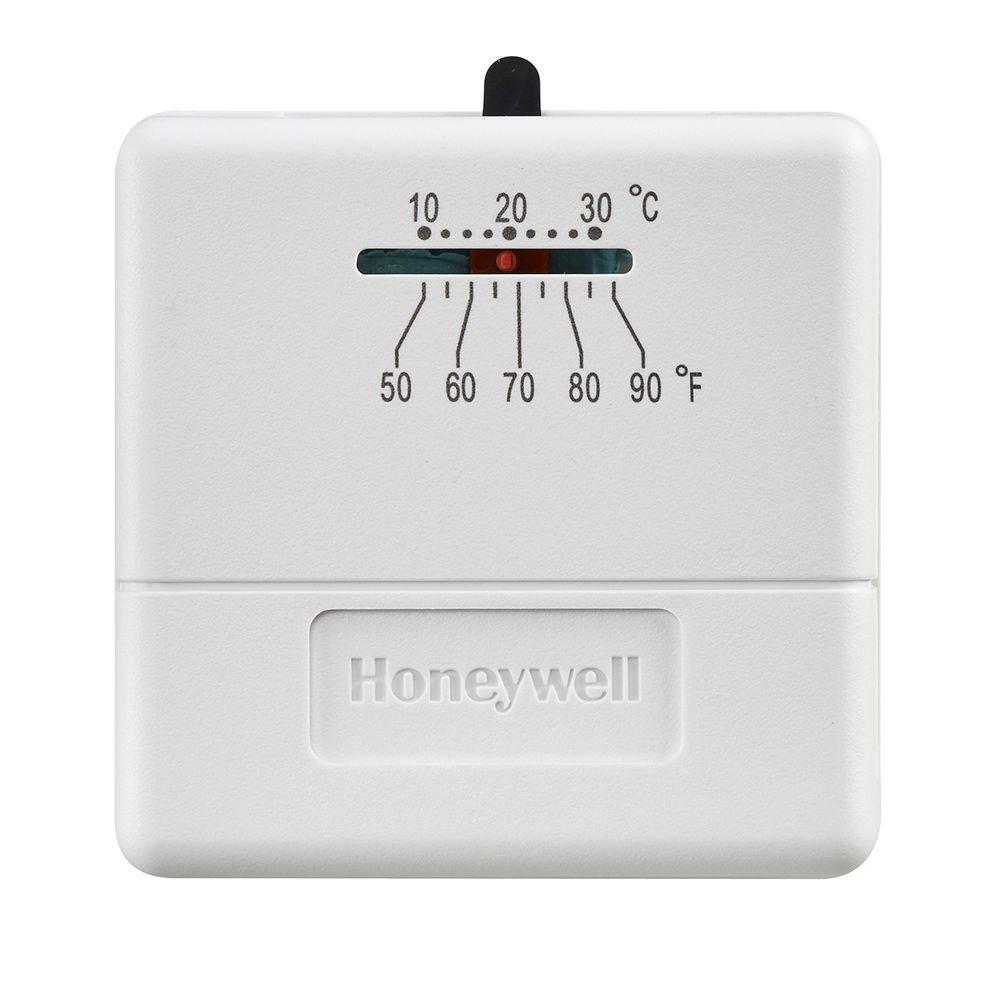 economy heat only non-programmable thermostat