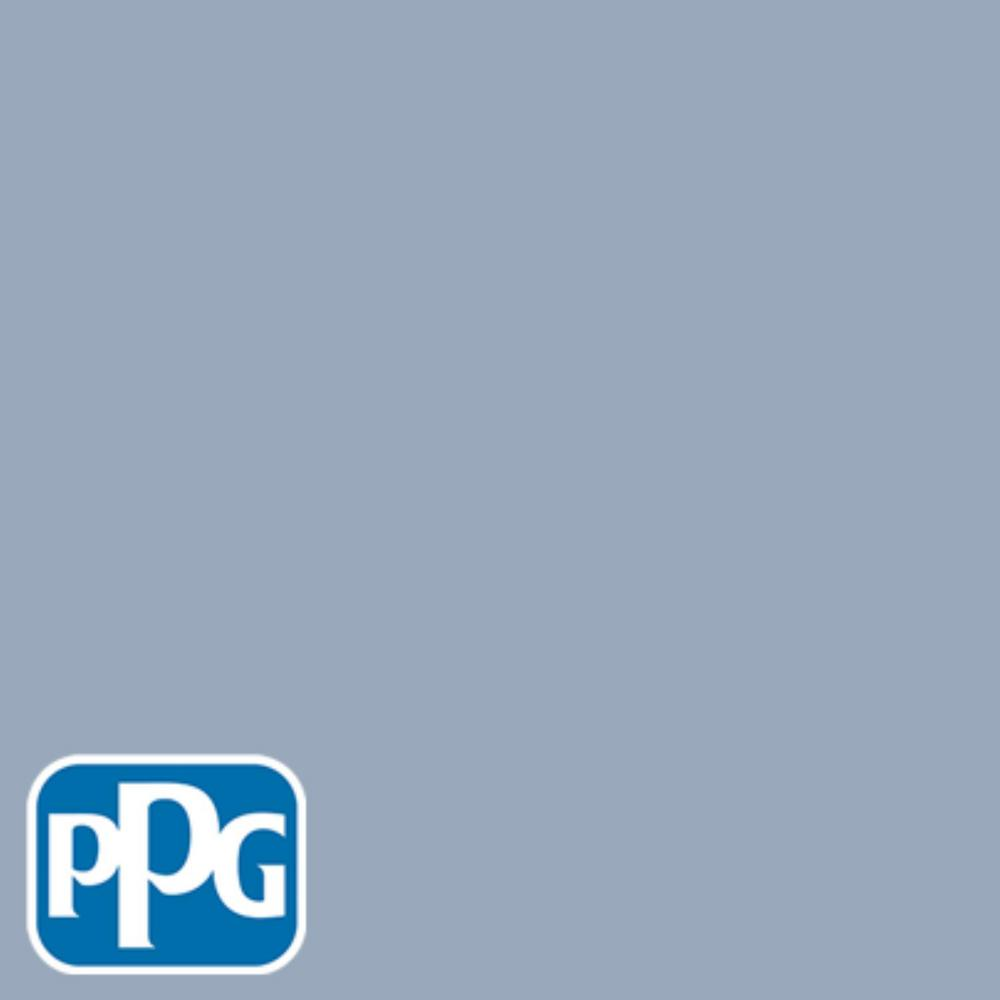 PPG TIMELESS 8 oz. #HDPPGV25D At Peace Blue Eggshell Interior/Exterior Paint Sample