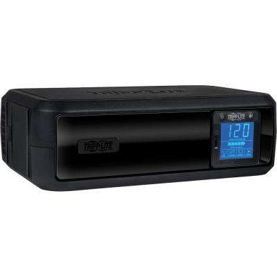 650VA 350-Watt UPS Battery Back Up Tower LCD AVR 120-Volt USB