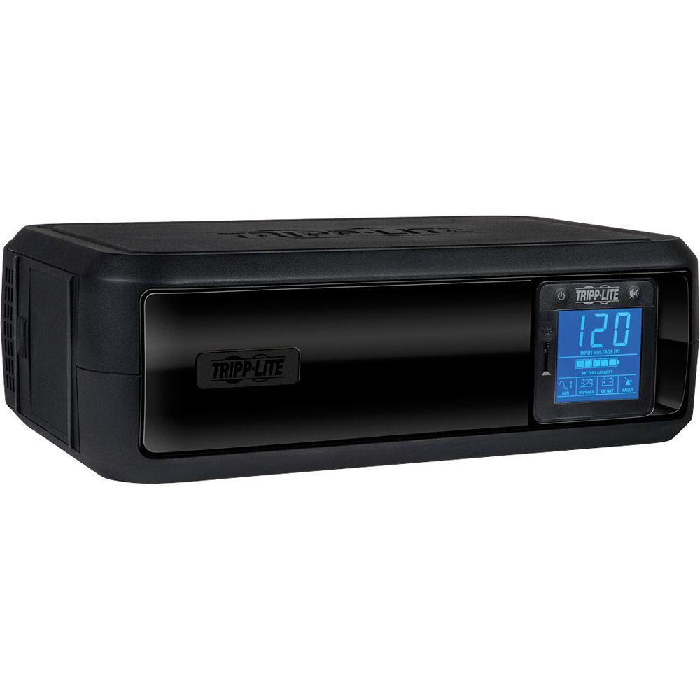 650VA 350-Watt UPS Battery Back Up Tower LCD AVR 120-Volt USB