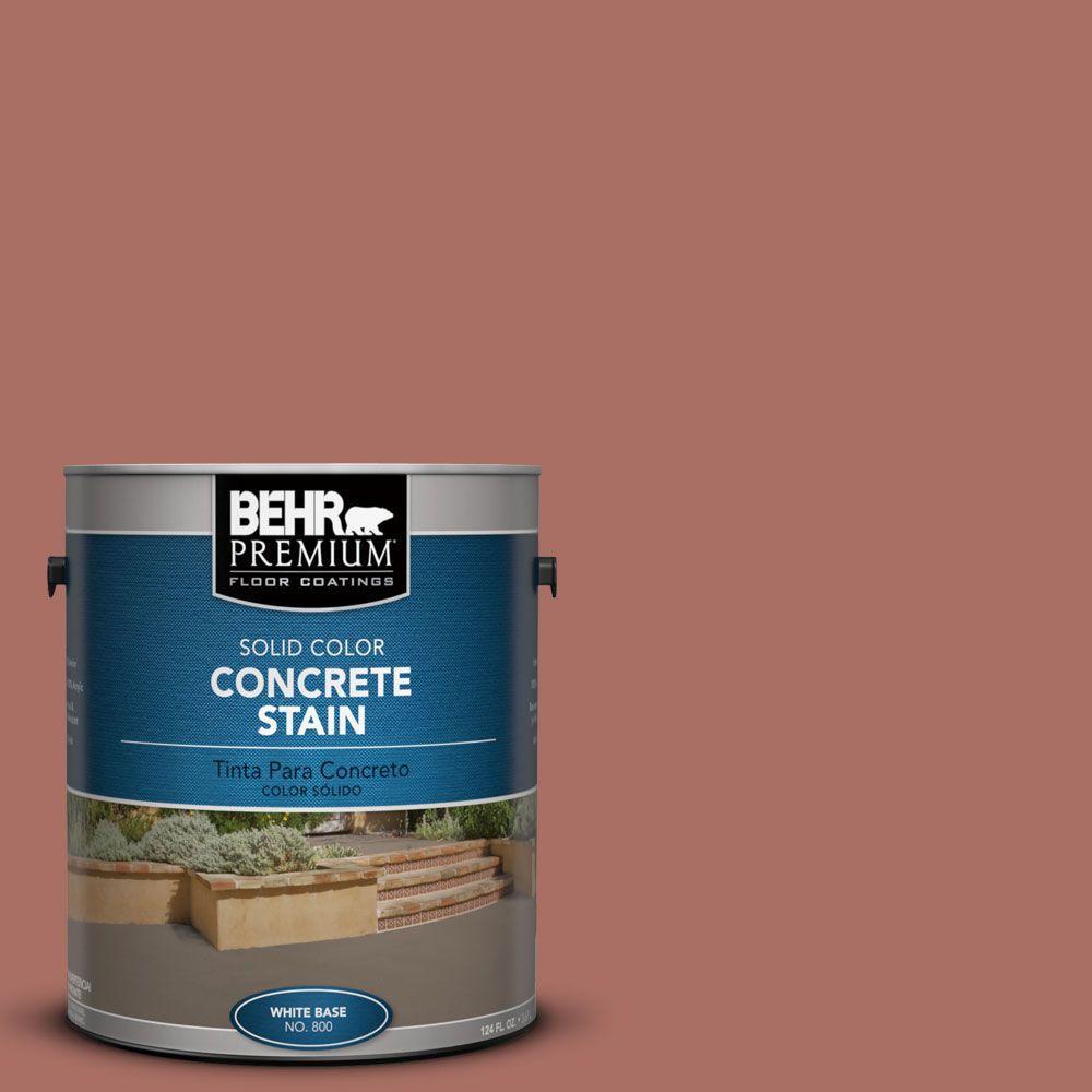 1 gal. #PFC-08 Terra Brick Solid Color Interior/Exterior Concrete Stain