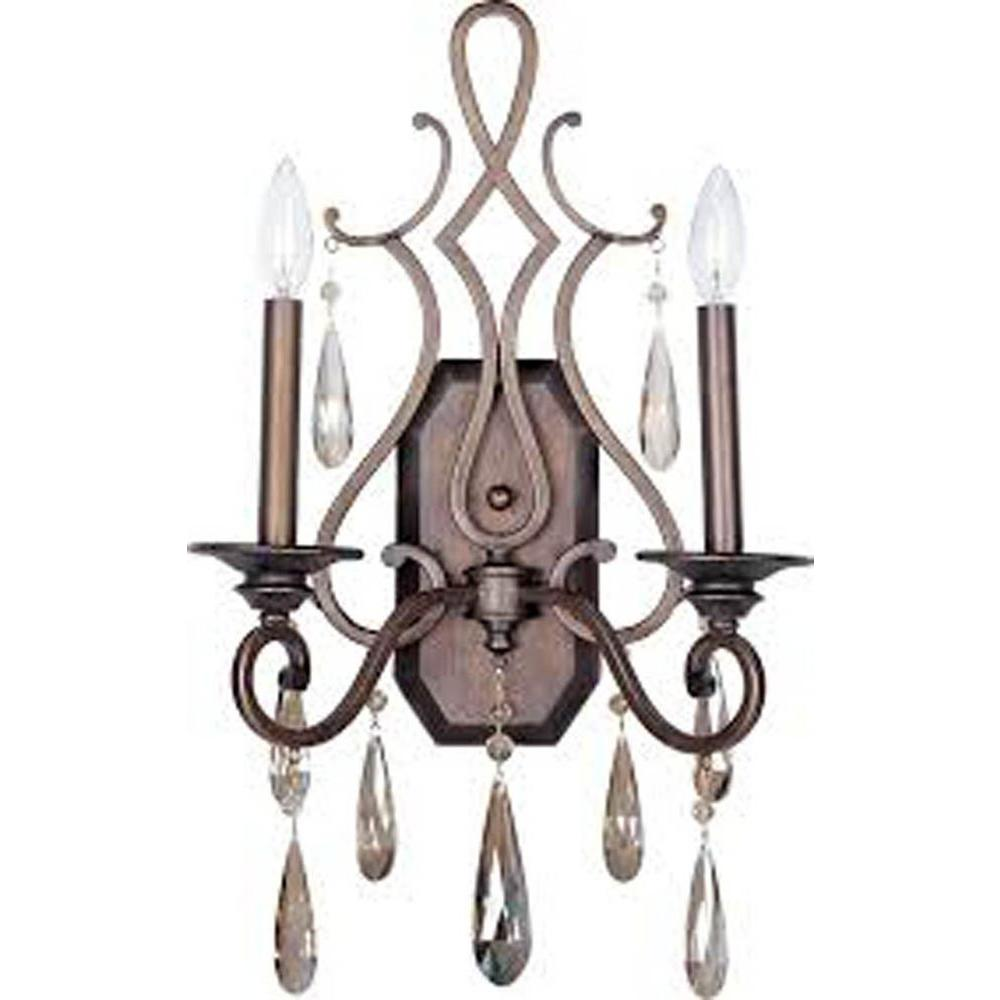 Chic 2-Light Heritage Sconce