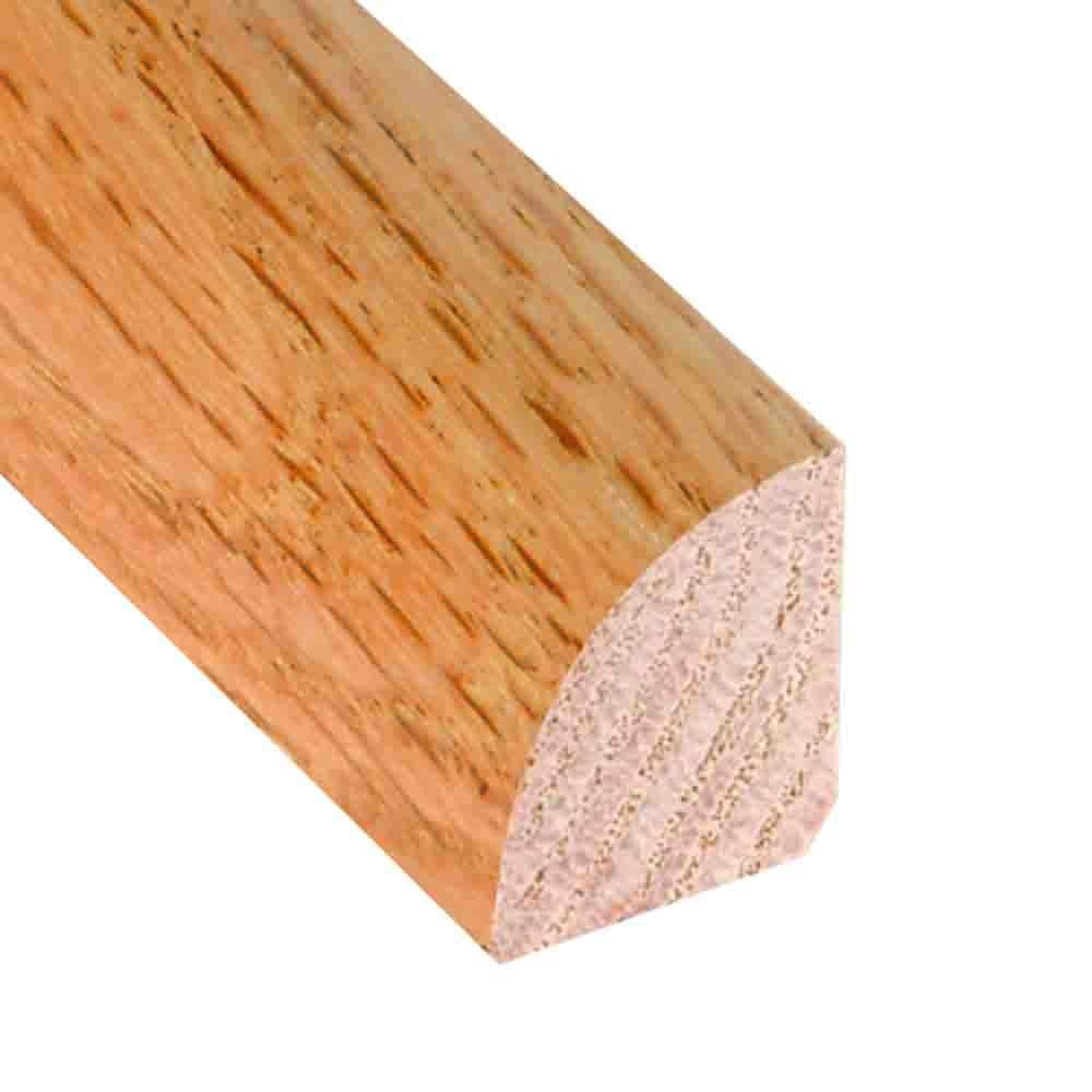 Millstead Unfinished Oak 3 4 In Thick X 3 4 In Wide X 78 In Length Hardwood Quarter Round Molding Lm4365 The Home Depot
