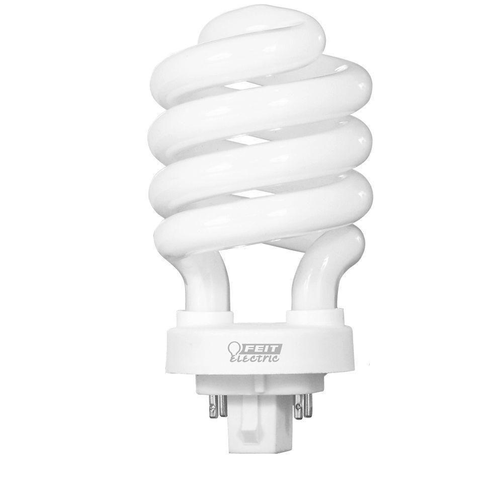 100-Watt Equivalent Soft White (2700K) Spiral 4-Pin CFL Light Bulb (50-Pack)