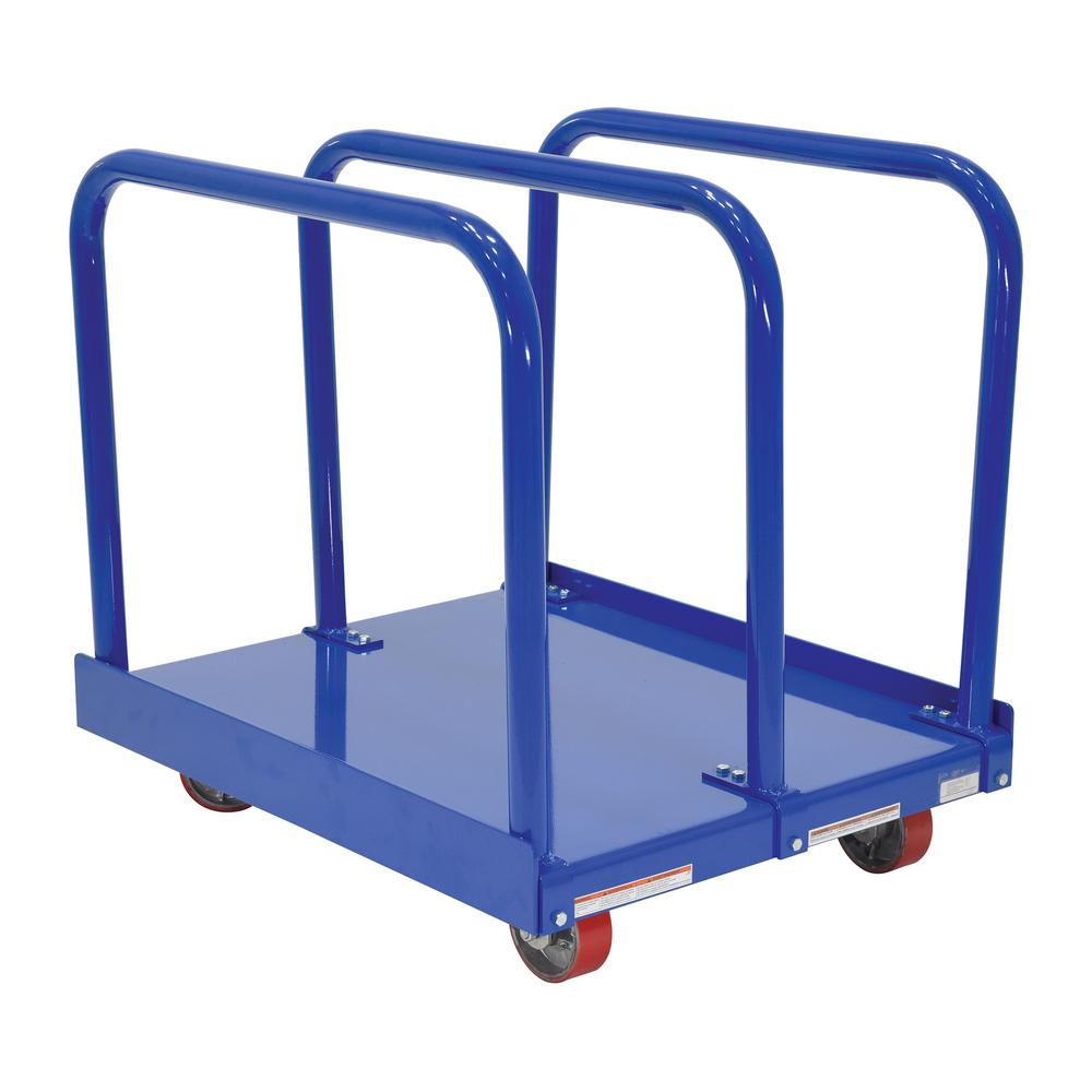 Vestil 29-1/2 in. x 36 in. Heavy-Duty Panel Cart with 400...