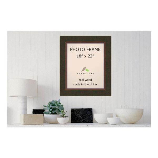 Amanti Art Milano 18 In X 22 Bronze Picture Frame