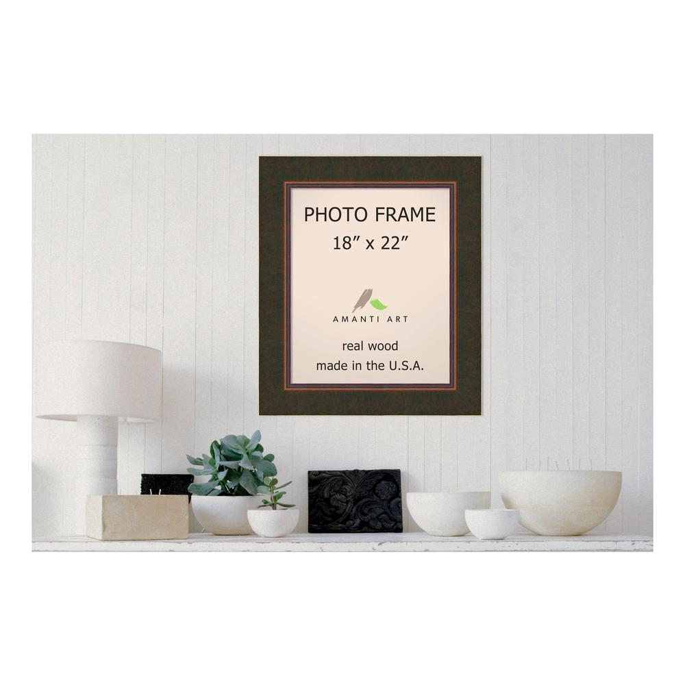 Milano 18 in. x 22 in. Bronze Picture Frame