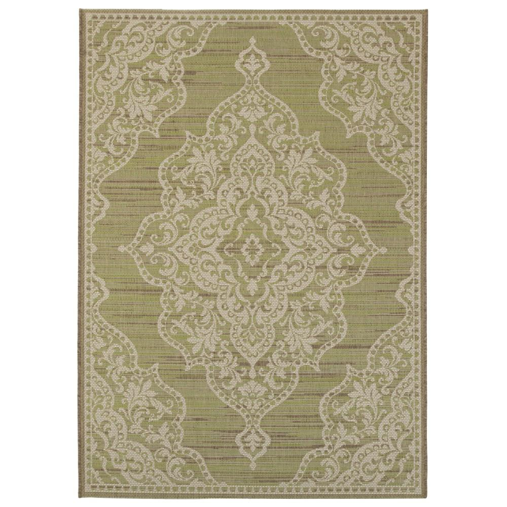 Home Decorators Collection Cecil Green 2 Ft X 3 Ft 7 In Indoor Outdoor Area Rug 9949200610