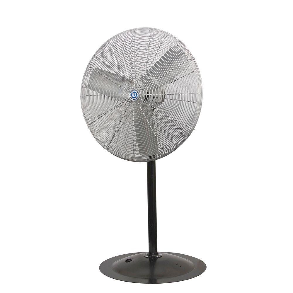 Leading Edge ACH Series Industrial 30 in. Pedestal Mount Air Circulator