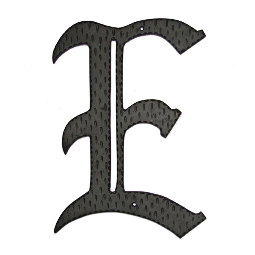 24 in. Home Accent Monogram E