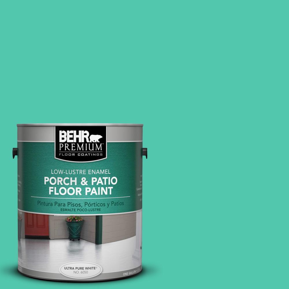 BEHR Premium 1 gal. #P430-4 Kauai Low-Lustre Interior/Exterior Porch and Patio Floor Paint