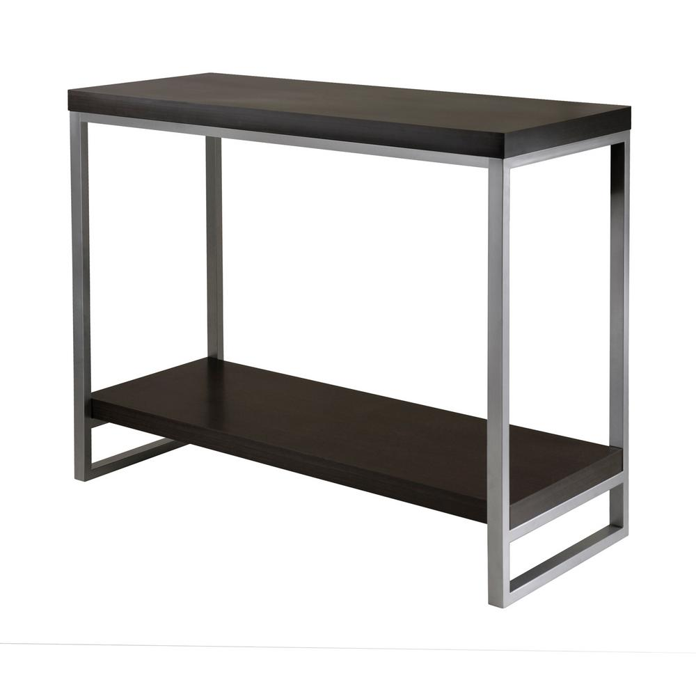 Winsome Wood Jared Espresso Console Table