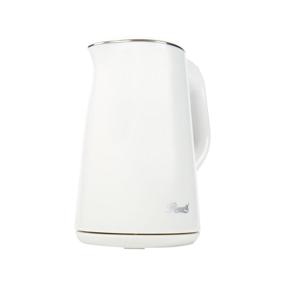 Rosewill 6.34-Cup Double Wall Insulated Stainless Steel Electric Kettle