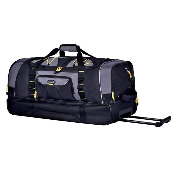 Sierra Madre 30 in. Rolling Duffel with Drop-Bottom Compartment and Shoe/Wet Pocket