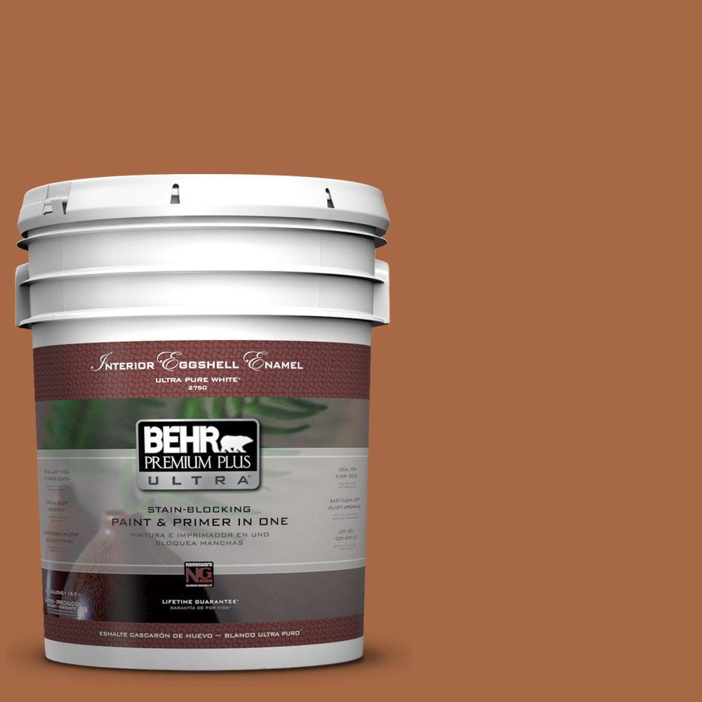 BEHR Premium Plus Ultra 5-gal. #PPU3-16 Maple Glaze Eggshell Enamel Interior Paint