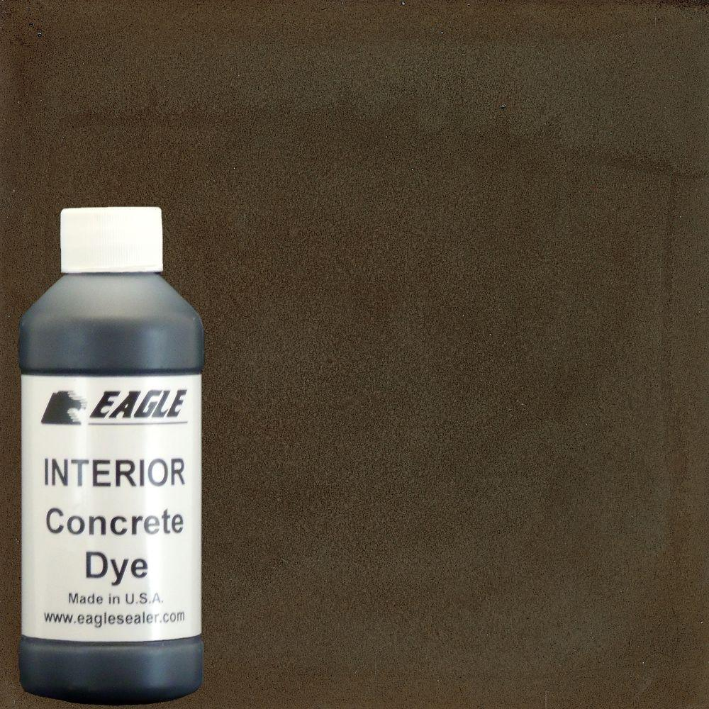 Eagle 1 gal. Maple Syrup Interior Concrete Dye Stain Makes with Water from 8 oz. Concentrate