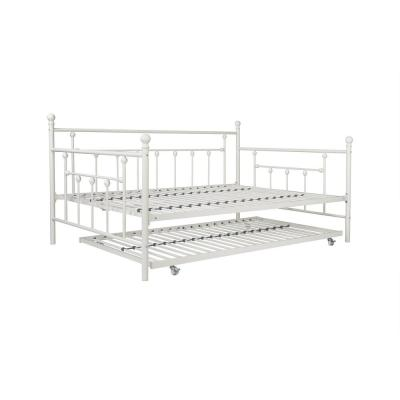 Mia White Full Daybed and Trundle Set