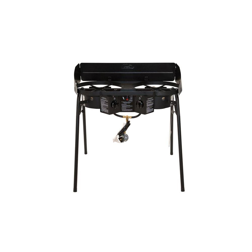 Masterbuilt Double Burner Camp Stove 20020413 The Home Depot