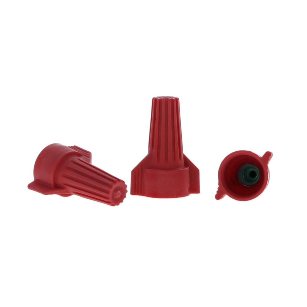 DryConn Medium Waterproof Wire Connectors, Aqua/Red (20-Pack)-62214 ...