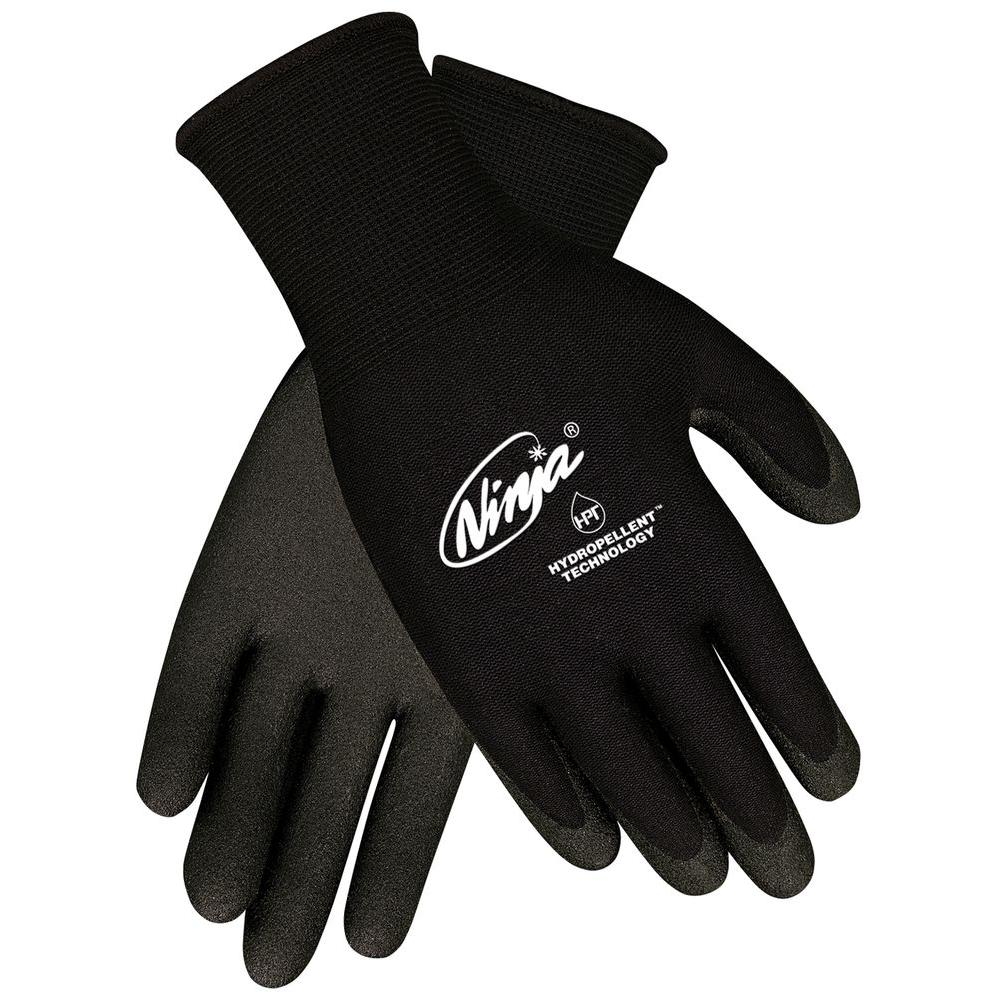 MSA Safety Works Ninja HPT Coated Large Palm and Fingertips Glove