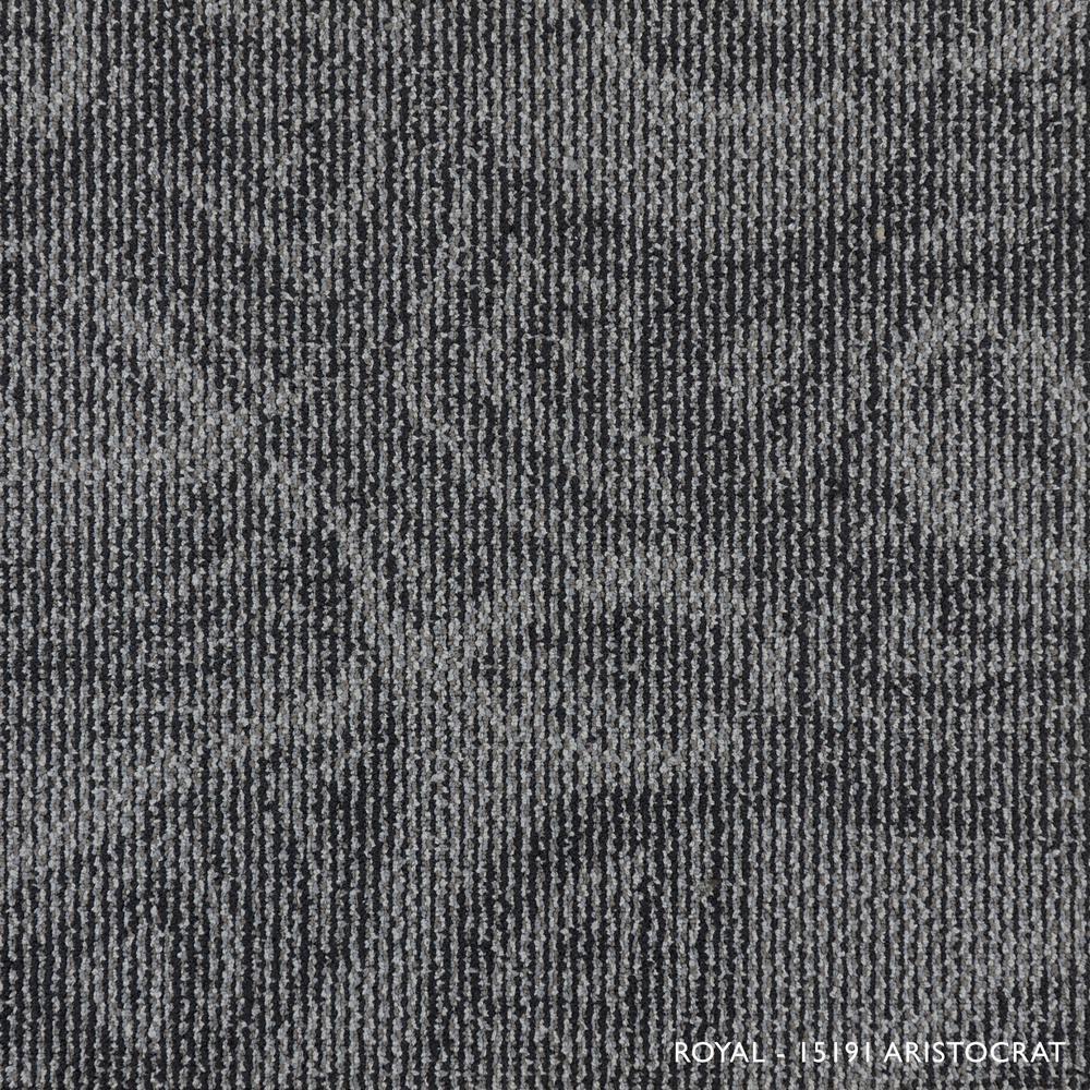 Royal Aristocrat 19.68 in. x 19.68 in. Carpet Tiles (8 Tiles/Case)