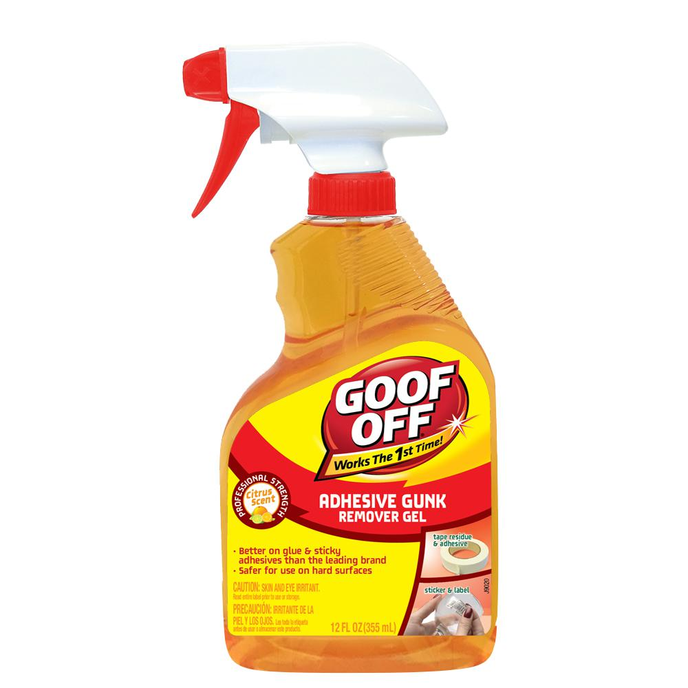 Goof Off 12 oz. Gunk and Adhesive Remover Gel Spray Trigger