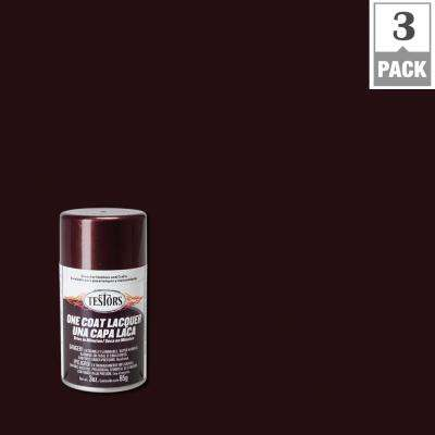 3 oz. Root Beer Lacquer Spray Paint (3-Pack)