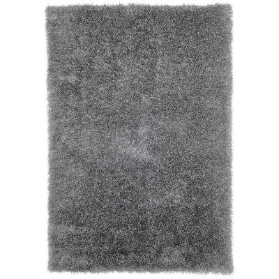 Shag Gray 5 ft. 3 in. x 7 ft. 7 in. Area Rug