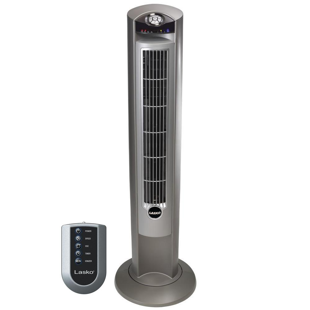 Lasko Wind Curve 42 in. Tower Fan with Fresh Air Ionizer