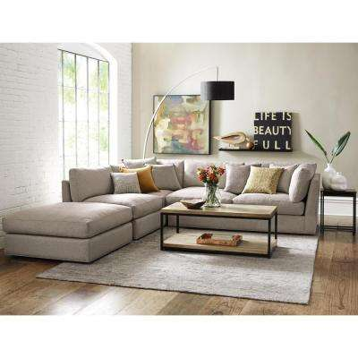Sectionals living room furniture the home depot for Home depot furniture decals