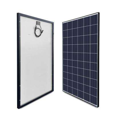 270-Watt 24-Volt Polycrystalline Solar Panel for Residential Commercial Rooftop Back-Up System Off-Grid Application