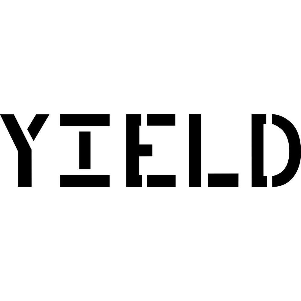 12 in. Yield Stencil
