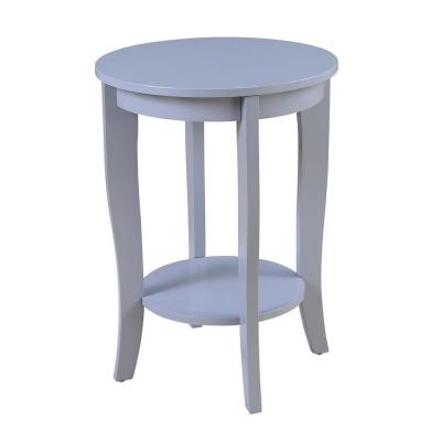 American Heritage Gray End Table