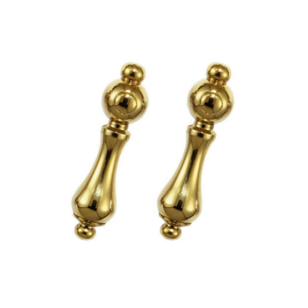 2SML Polished Brass Handle Kits