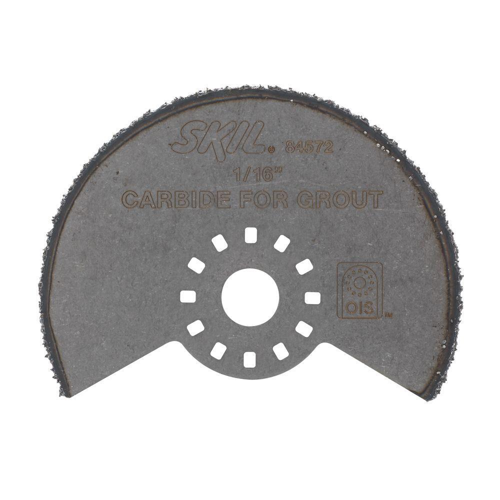 Skil 3 in. Carbide Gritl OMT Segment Blade