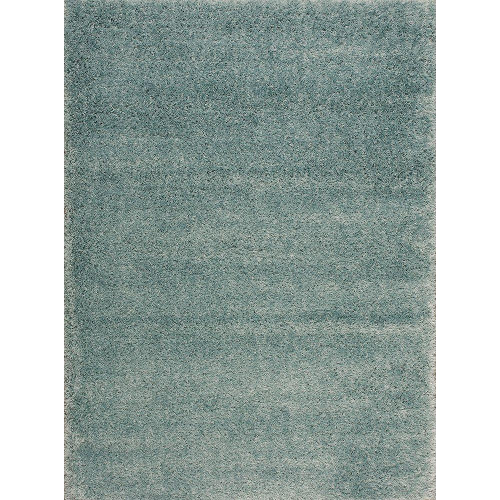 Nourison Escape Aqua (Blue) 5 ft. x 7 ft. Area Rug