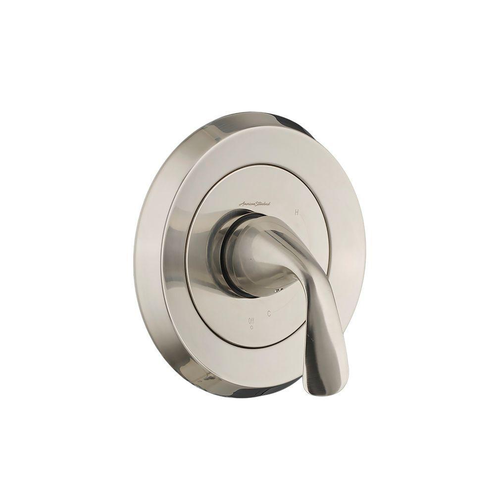 Fluent 1-Handle Pressure Balance Valve Only Trim Kit in Brushed Nickel (Valve Sold Separately)