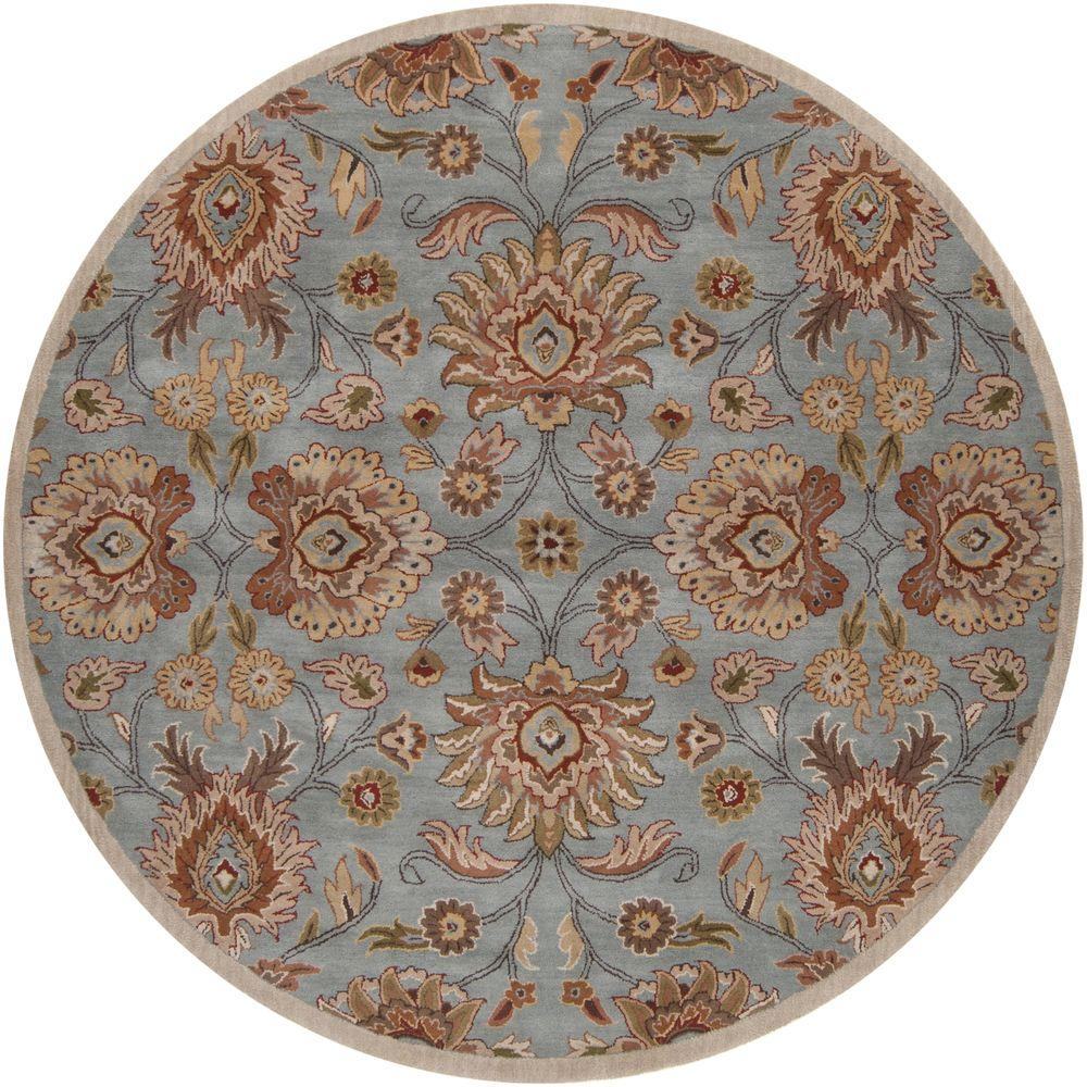 Artistic Weavers Cambrai Moss 10 Ft. X 10 Ft. Round Indoor