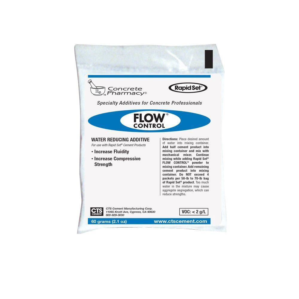 Rapid Set 2.12 oz. Concrete Pharmacy Flow Control