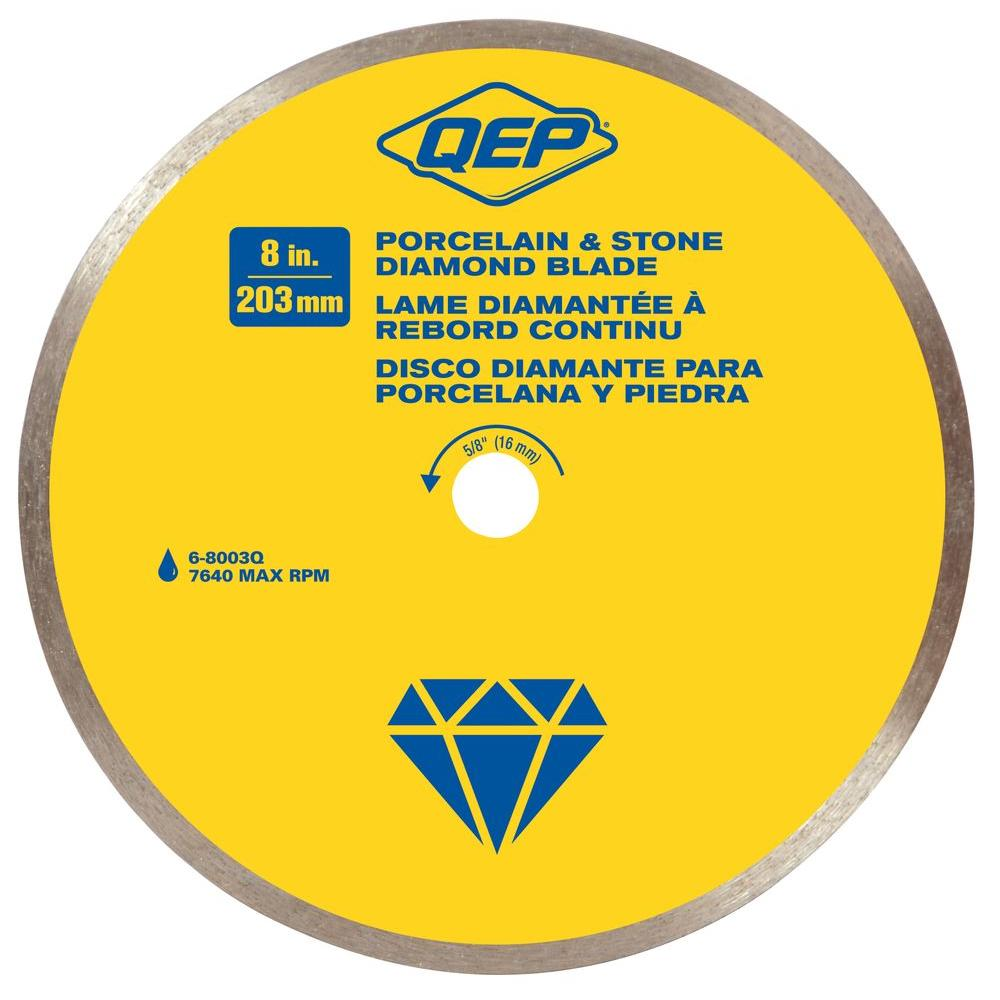 8 in. Premium Diamond Blade for Wet Cutting Porcelain and Ceramic