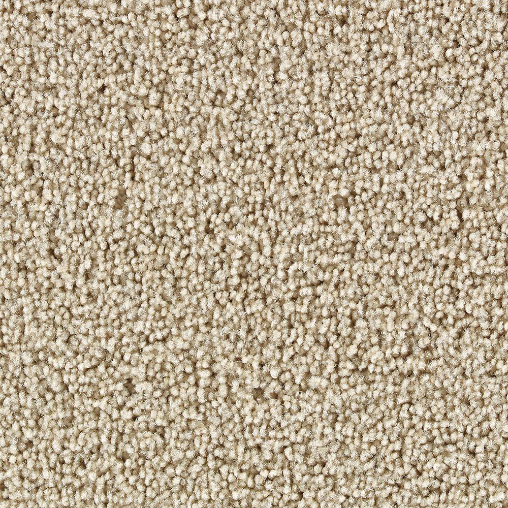 Martha Stewart Living Beechwood Nutshell - 6 in. x 9 in. Take Home Carpet Sample-DISCONTINUED