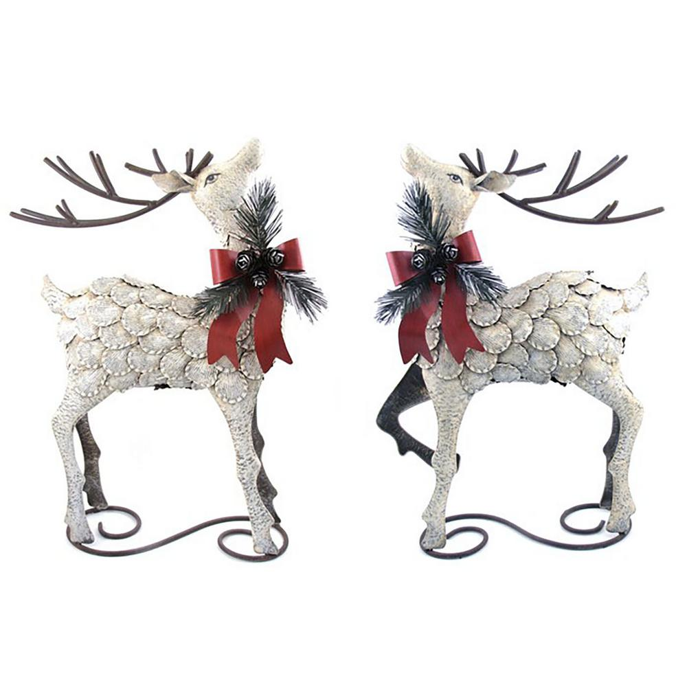 Christmas Reindeer Decorations Home Depot