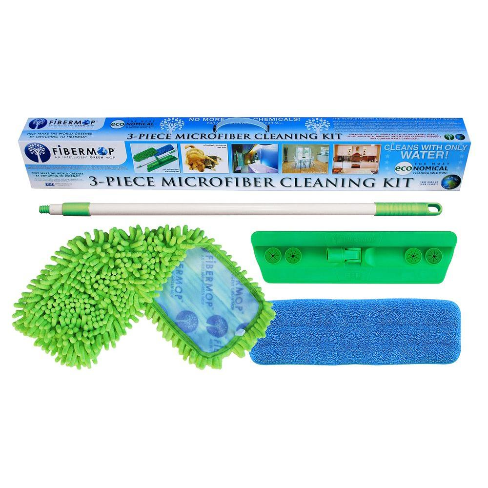 3-in-1 Microfiber Mop Cleaning Kit