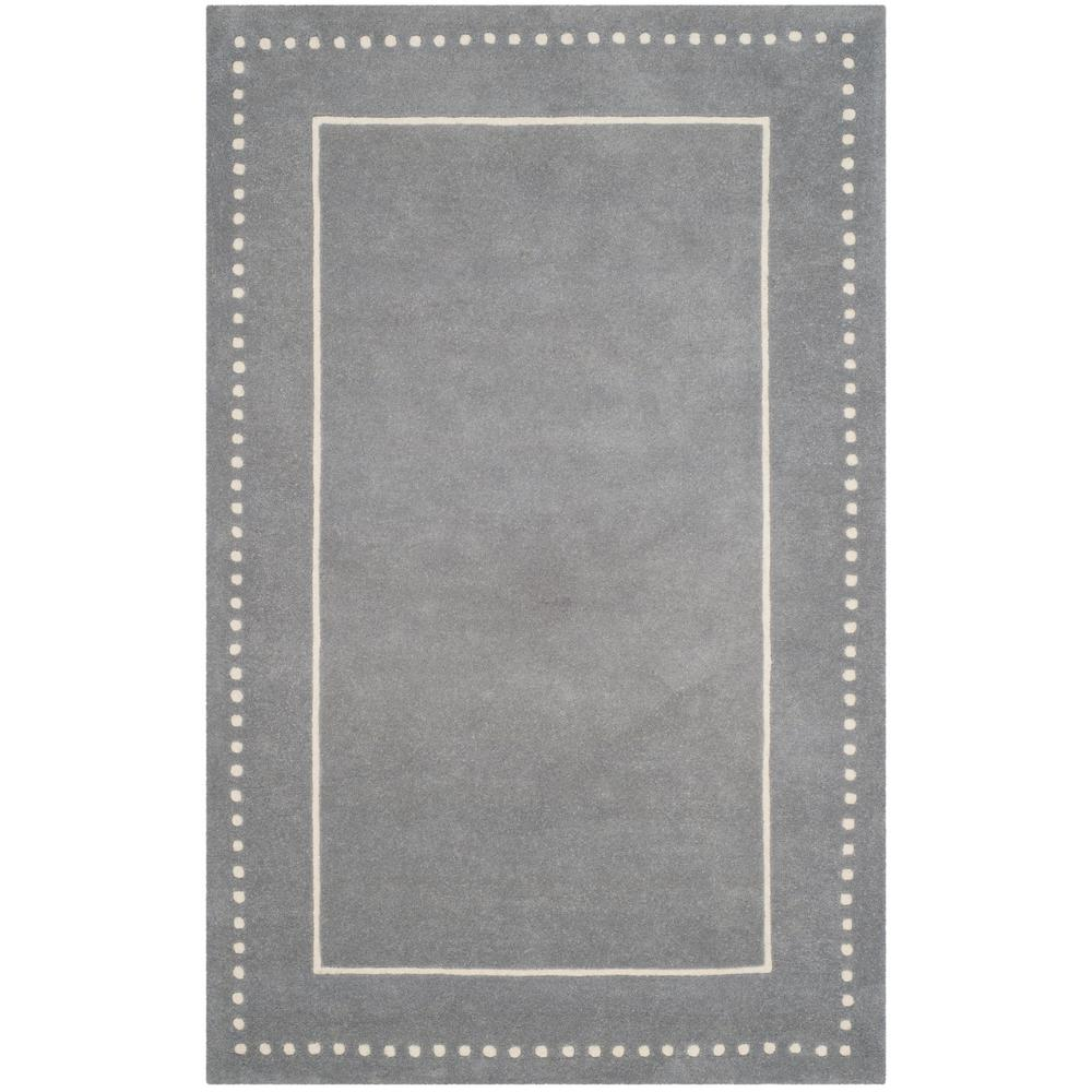 618eceb8b Safavieh Bella Silver Ivory 6 ft. x 9 ft. Area Rug-BEL151D-6 - The ...